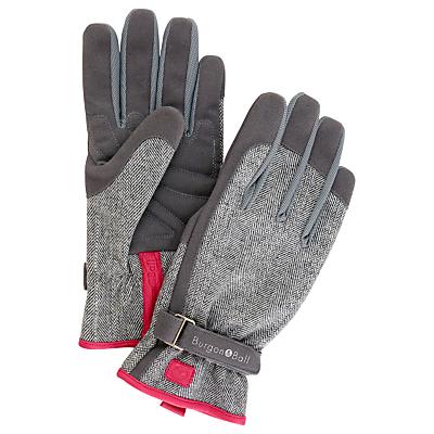 Burgon & Ball Tweed Gardening Gloves, Medium