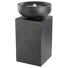 Buy Kaemingk Column Water Feature, Grey, Large Online at johnlewis.com