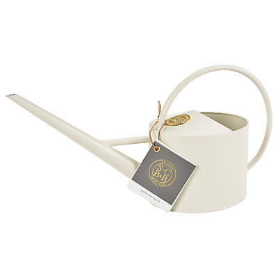 Sophie Conran for Burgon & Ball Indoor Watering Can, Buttermilk, 1.7L
