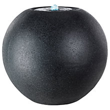 Buy Kaemingk Stone Granite Ball Water Feature Online at johnlewis.com
