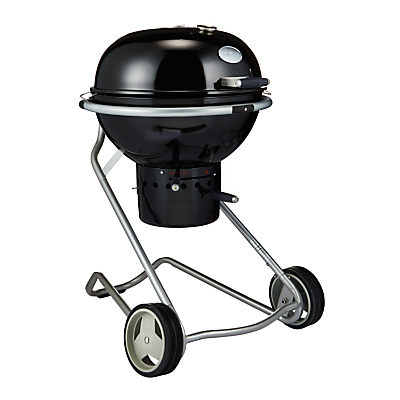 John Lewis Luxury Kettle Charcoal BBQ, Black, 60cm
