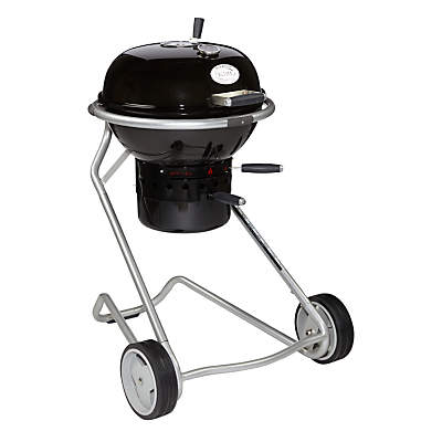 John Lewis Luxury Kettle Charcoal BBQ, Black, 50cm