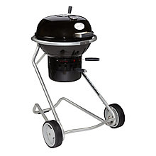 Buy John Lewis Luxury Kettle Charcoal BBQ, Black, 50cm Online at johnlewis.com