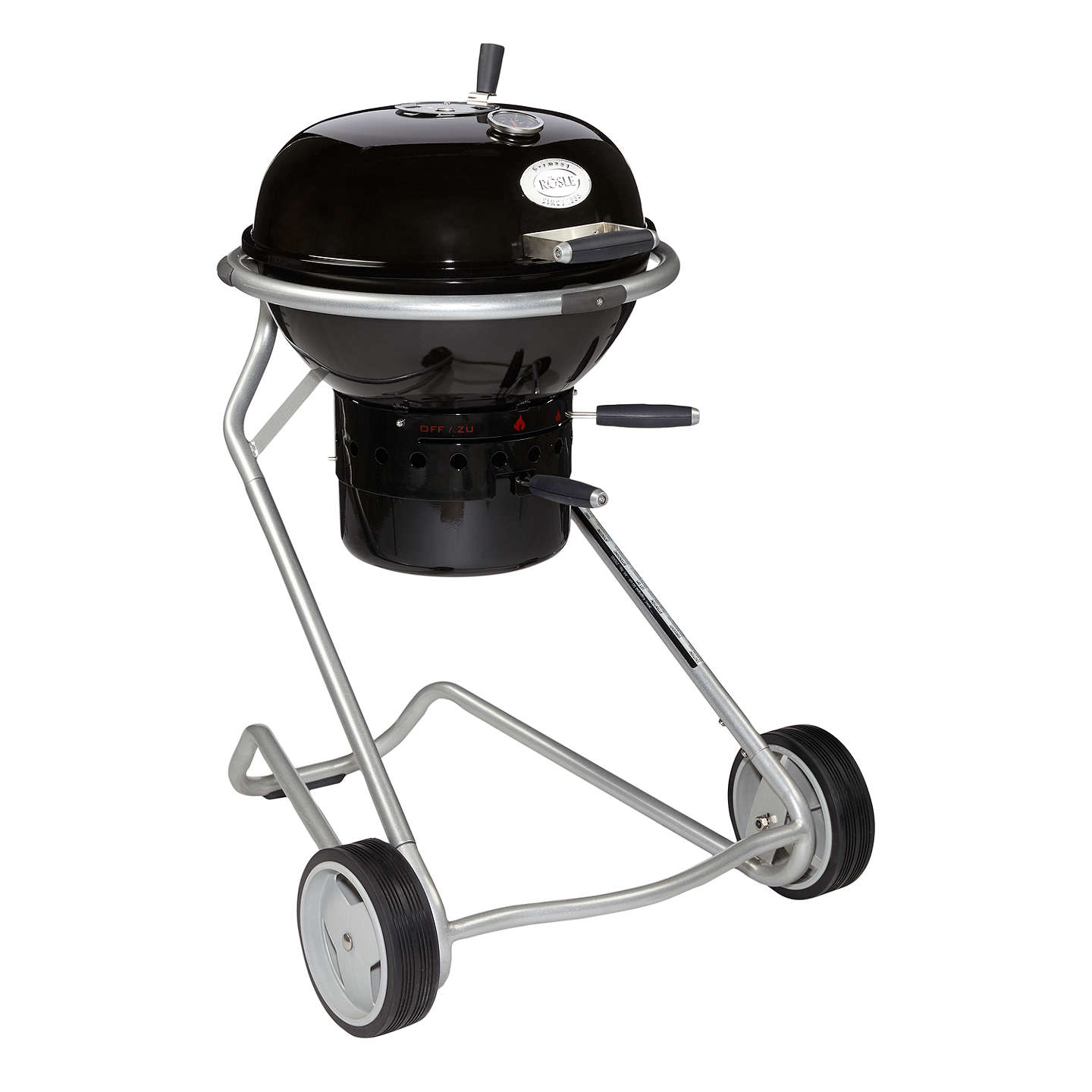 BuyJohn Lewis Luxury Kettle Charcoal BBQ, Black, 50cm Online at johnlewis.com