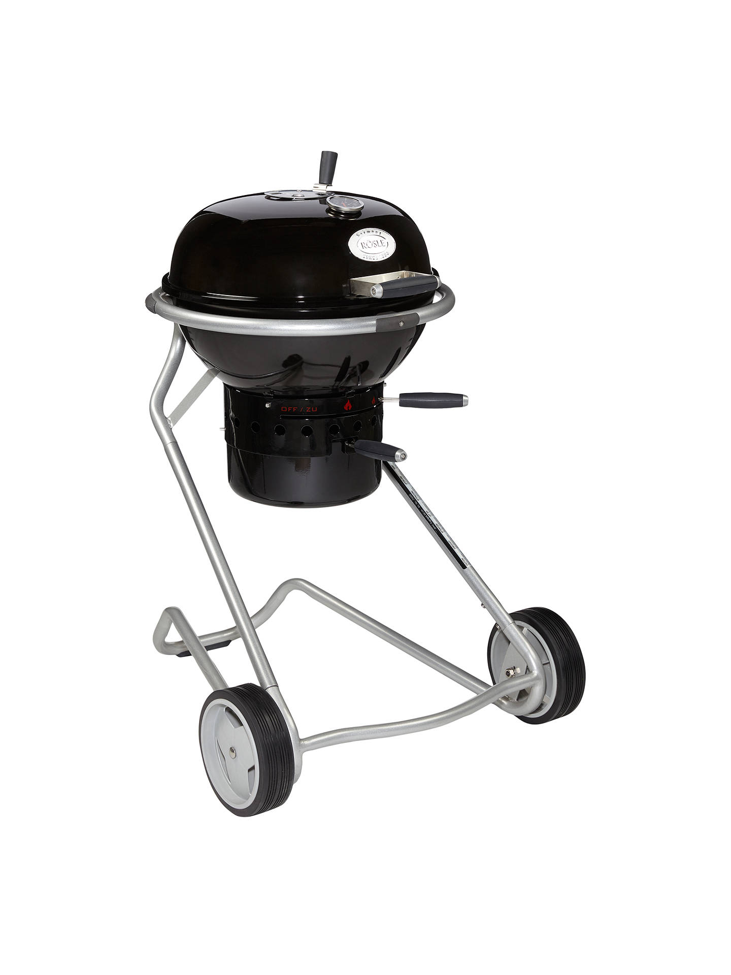 be1100f1 Buy John Lewis & Partners Luxury Kettle Charcoal BBQ, Black, 50cm Online at  johnlewis ...