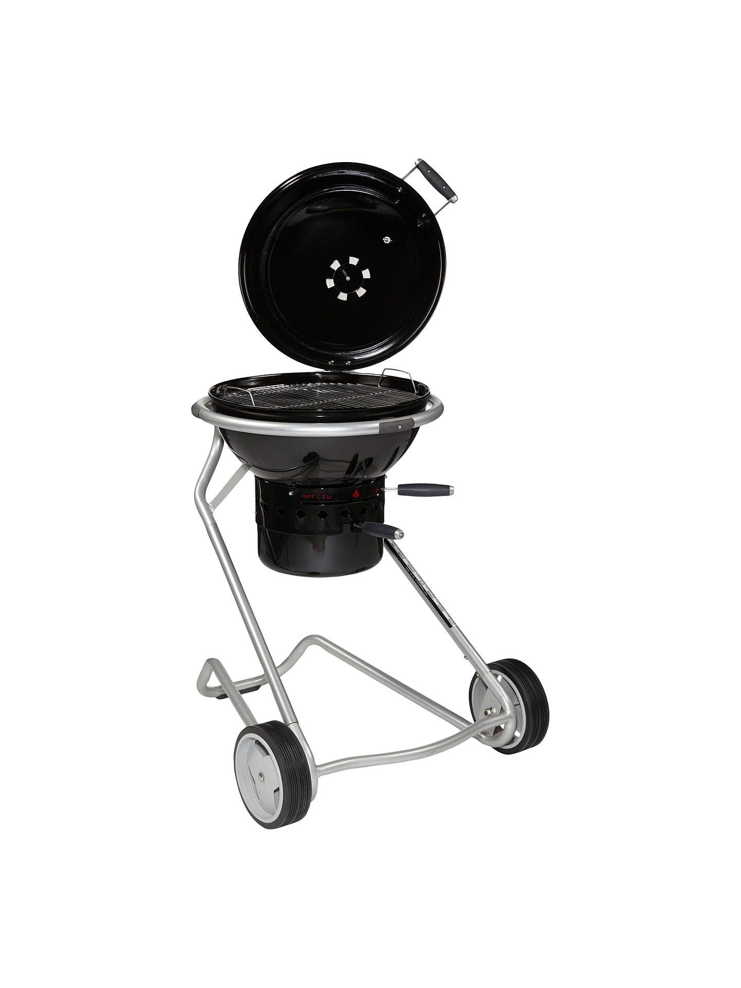 BuyJohn Lewis & Partners Luxury Kettle Charcoal BBQ, Black, 50cm Online at johnlewis.com