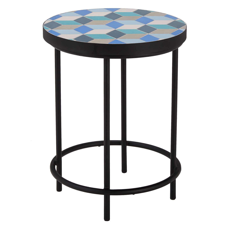 John Lewis Suri Mosaic Garden Side Table At Johnlewis Com