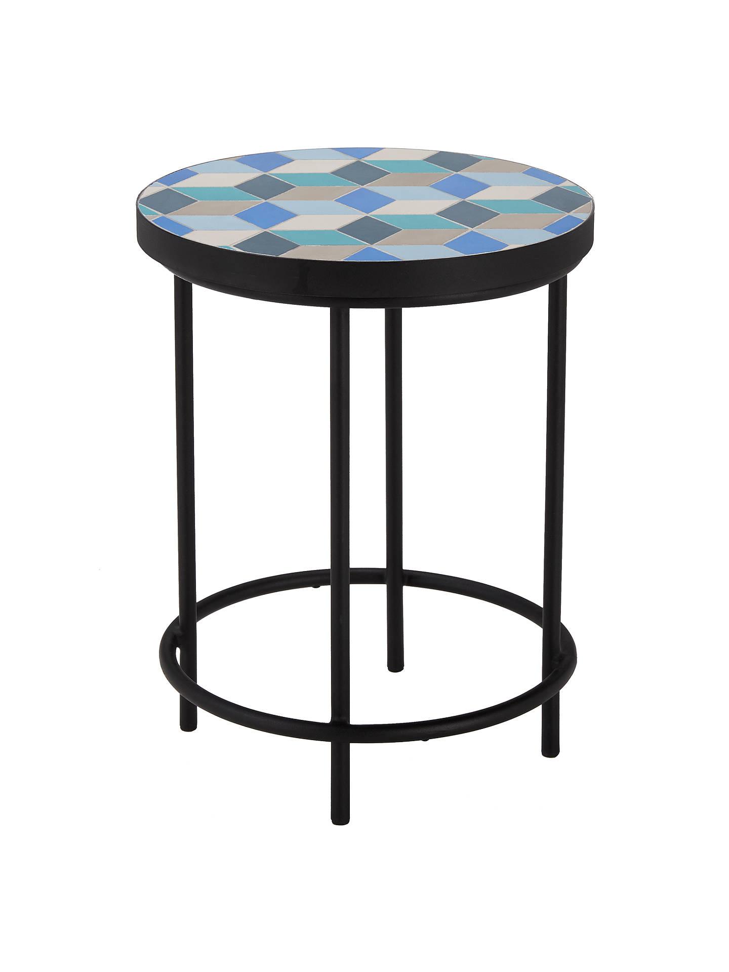 john lewis suri mosaic garden side table at john lewis. Black Bedroom Furniture Sets. Home Design Ideas