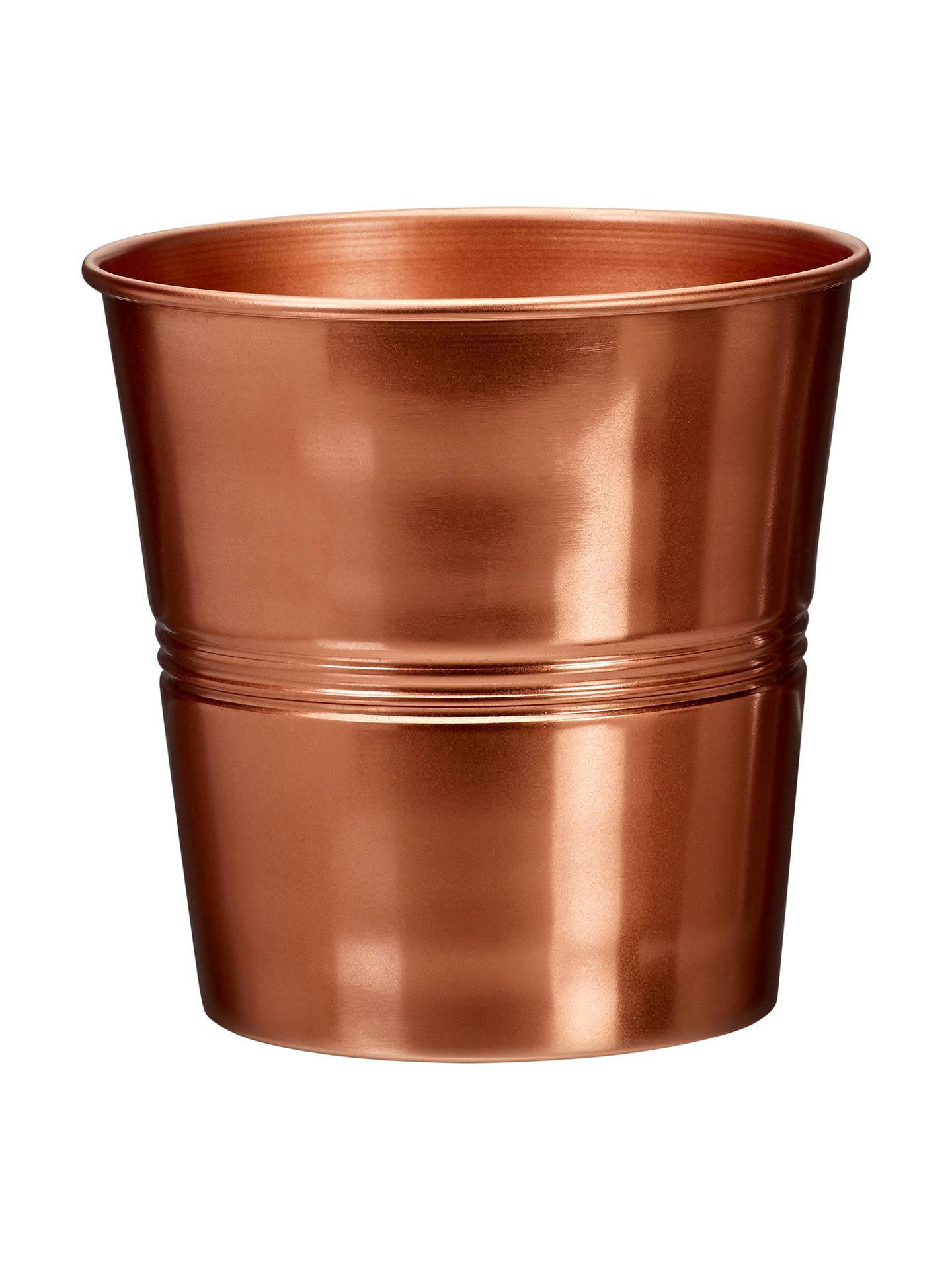 Etonnant Buy Garden Trading Large Indoor Plant Pot, H16cm, Copper Online At  Johnlewis.com
