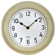 Buy Garden Trading Outdoor Clock, Dia.22cm, Clay Online at johnlewis.com