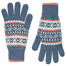 Buy Brora Cashmere Fair Isle Gloves, Multi Online at johnlewis.com