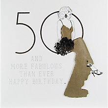 Buy Five Dollar Shake 50 And More Birthday Card Online at johnlewis.com