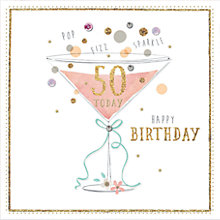 Buy Hotchpotch 50th Birthday Card Online at johnlewis.com