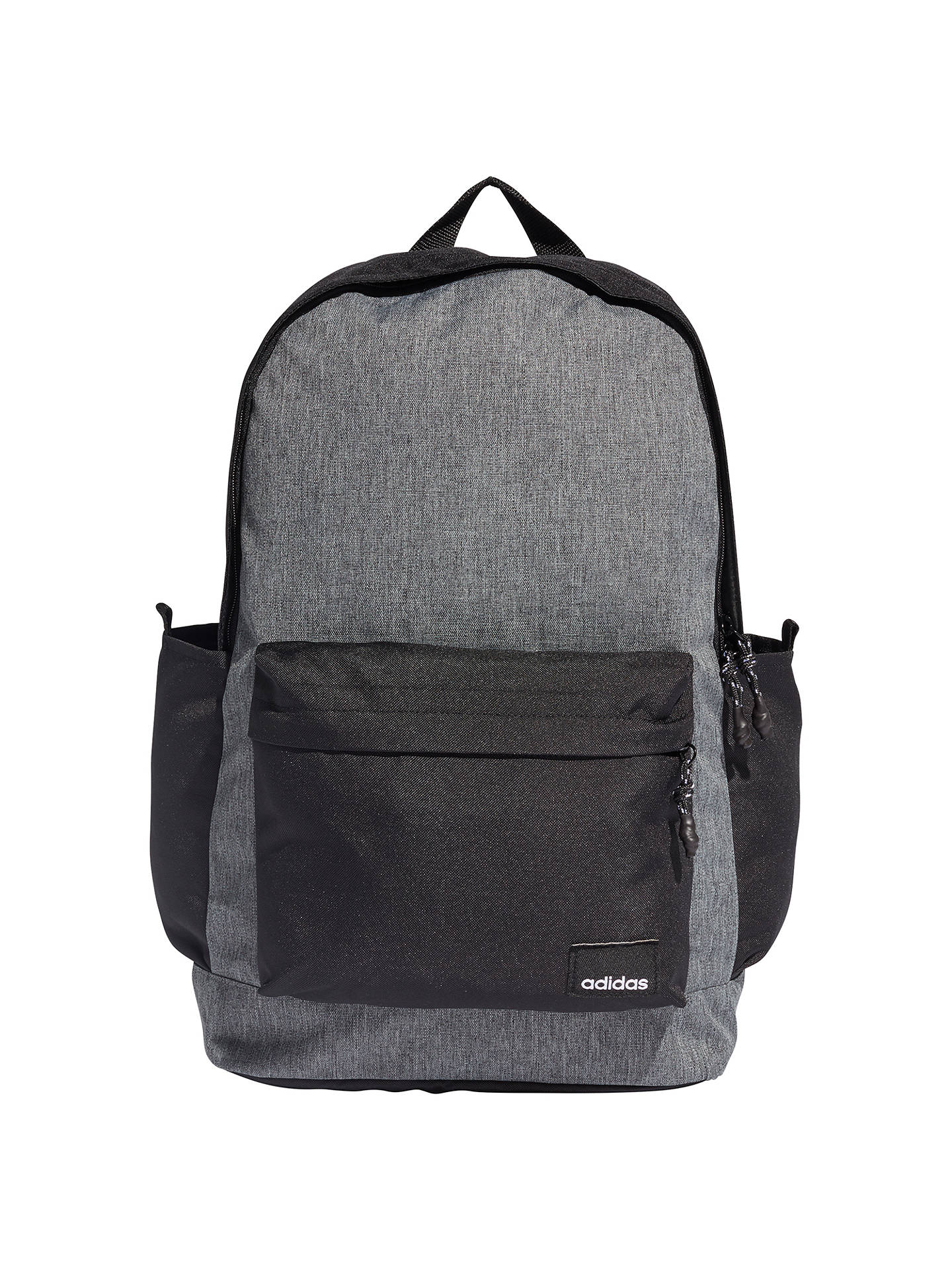 Buyadidas Classic Backpack, Black/Grey Online at johnlewis.com