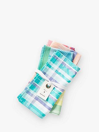 Buy Anthropologie Bobbi Napkins, Assorted, Set of 4 Online at johnlewis.com