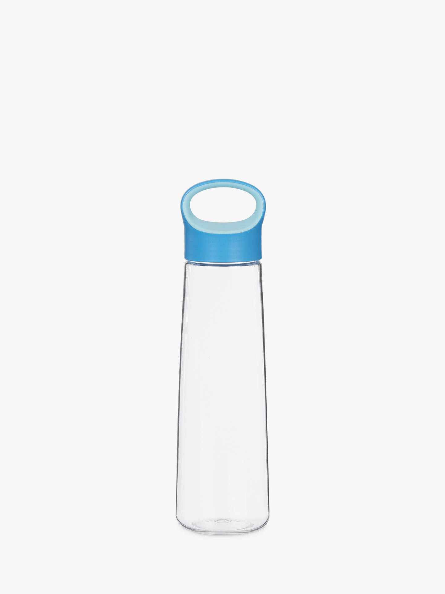 Buy John Lewis & Partners Drinks Bottle, 450ml, Clear/Blue Online at johnlewis.com