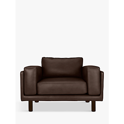 Design Project by John Lewis No.002 Leather Snuggler, Dark Leg