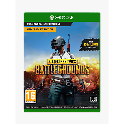 Image of PlayerUnknown's Battlegrounds, Xbox One