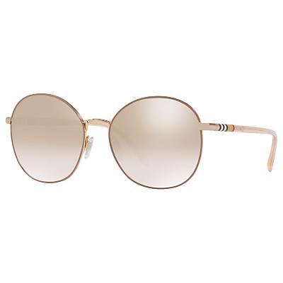 Burberry BE3094 Women's Round Sunglasses