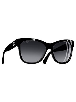 CHANEL Square Sunglasses CH5380 Black
