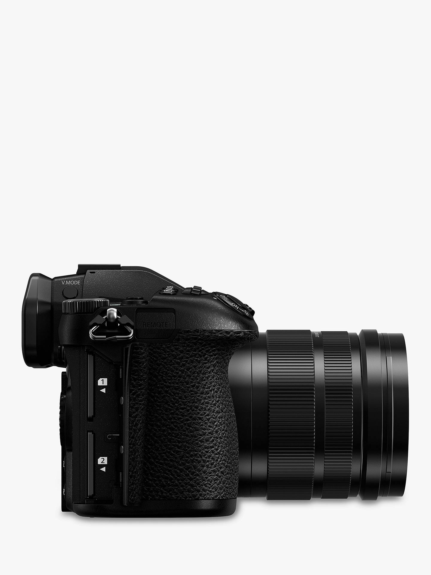 Panasonic Lumix DC-G9 Compact System Camera with Leica 12-60mm f2 8-4 0  Power O I S  Lens, 4K, 20 3MP, 4x Digital Zoom, Wi-Fi, OLED Viewfinder, 3