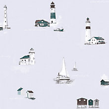 Buy Galerie Lighthouses Wallpaper Online at johnlewis.com