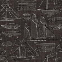 Buy Galerie Nautical Blueprint Wallpaper Online at johnlewis.com