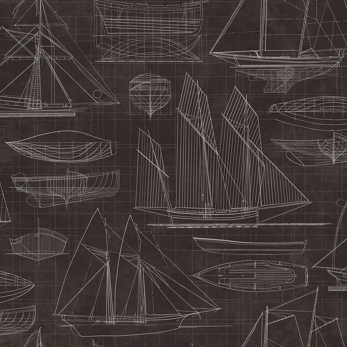 Galerie nautical blueprint wallpaper at john lewis buygalerie nautical blueprint wallpaper g23323 online at johnlewis malvernweather Choice Image
