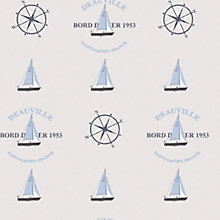 Buy Galerie Yachts & Compass Wallpaper Online at johnlewis.com