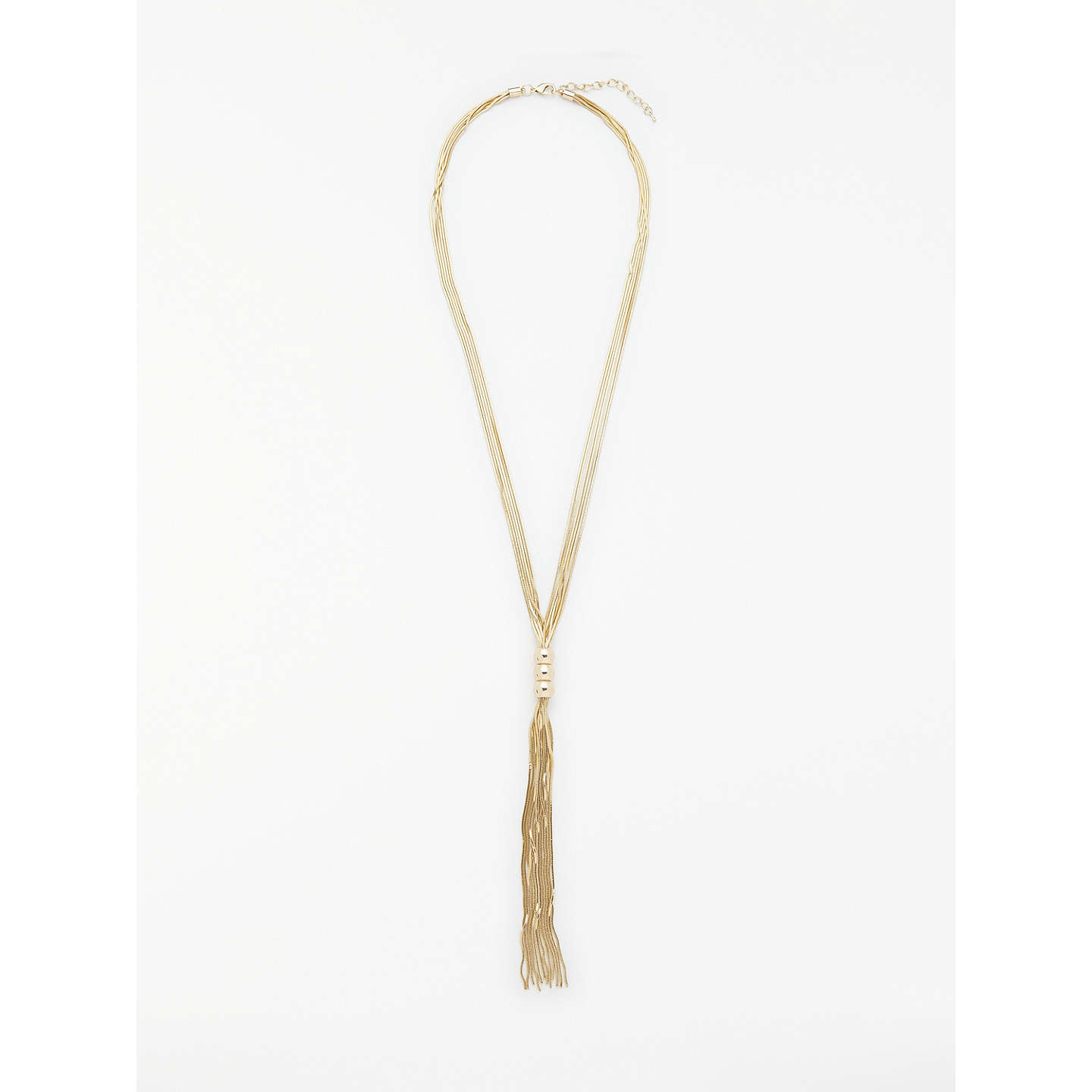 blue tassel silk products img vici crystal coated necklace