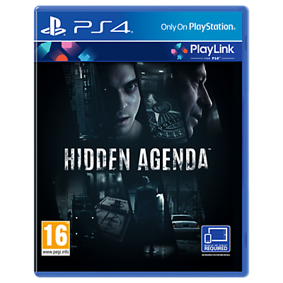 Image of Hidden Agenda, PS4 PlayLink