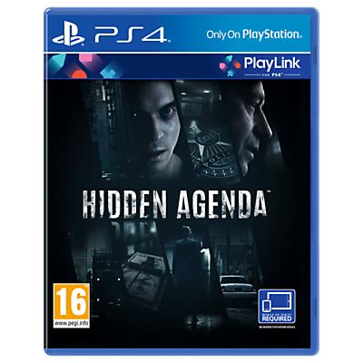 Hidden Agenda, PS4 PlayLink