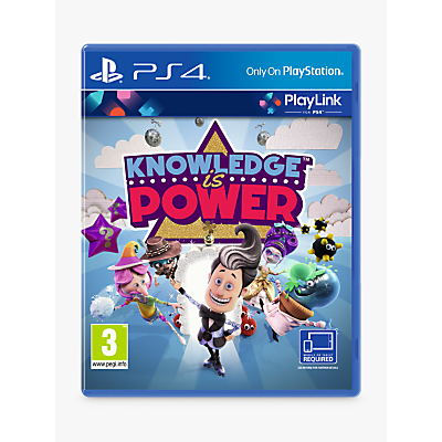 Image of Knowledge is Power, PS4 PlayLink