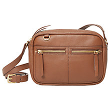 Buy White Stuff Lily Nubuck Leather Cross Body Bag Online at johnlewis.com