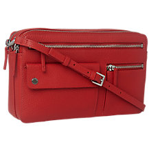 Buy Whistles Albion Leather Zip Pocket Bag Online at johnlewis.com