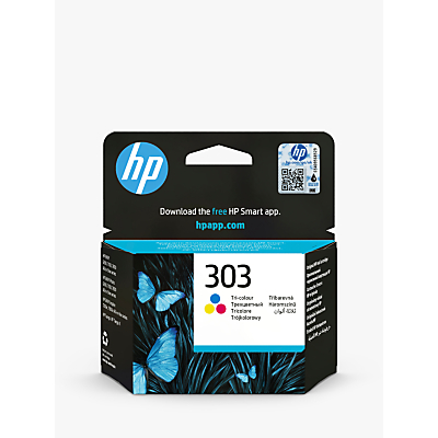 Image of HP 303 Tri-Colour Ink Cartridge