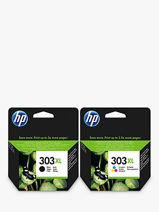 HP 303 XL Ink Cartridge Black & Tri-Colour Multipack, Pack Of 2