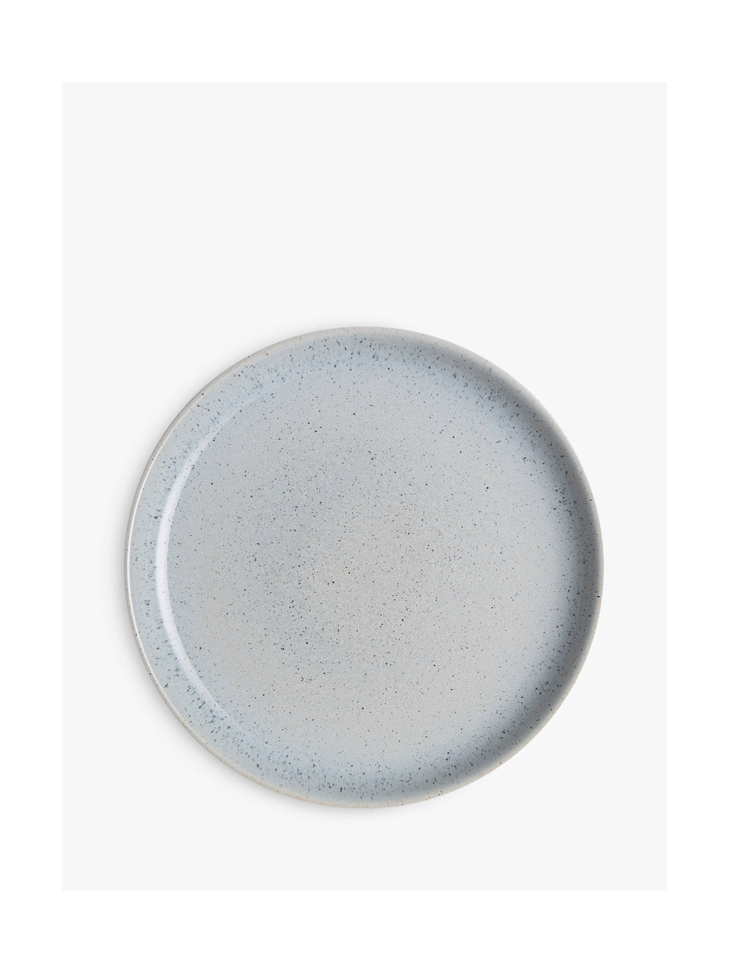 BuyDenby Studio Blue Dinner Coupe Plates, Chalk/Blue, Dia.26cm, Set of 4 Online at johnlewis.com