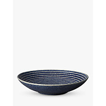 Buy Denby Studio Blue Medium Ridged Bowl, Dia.25.5cm Online at johnlewis.com