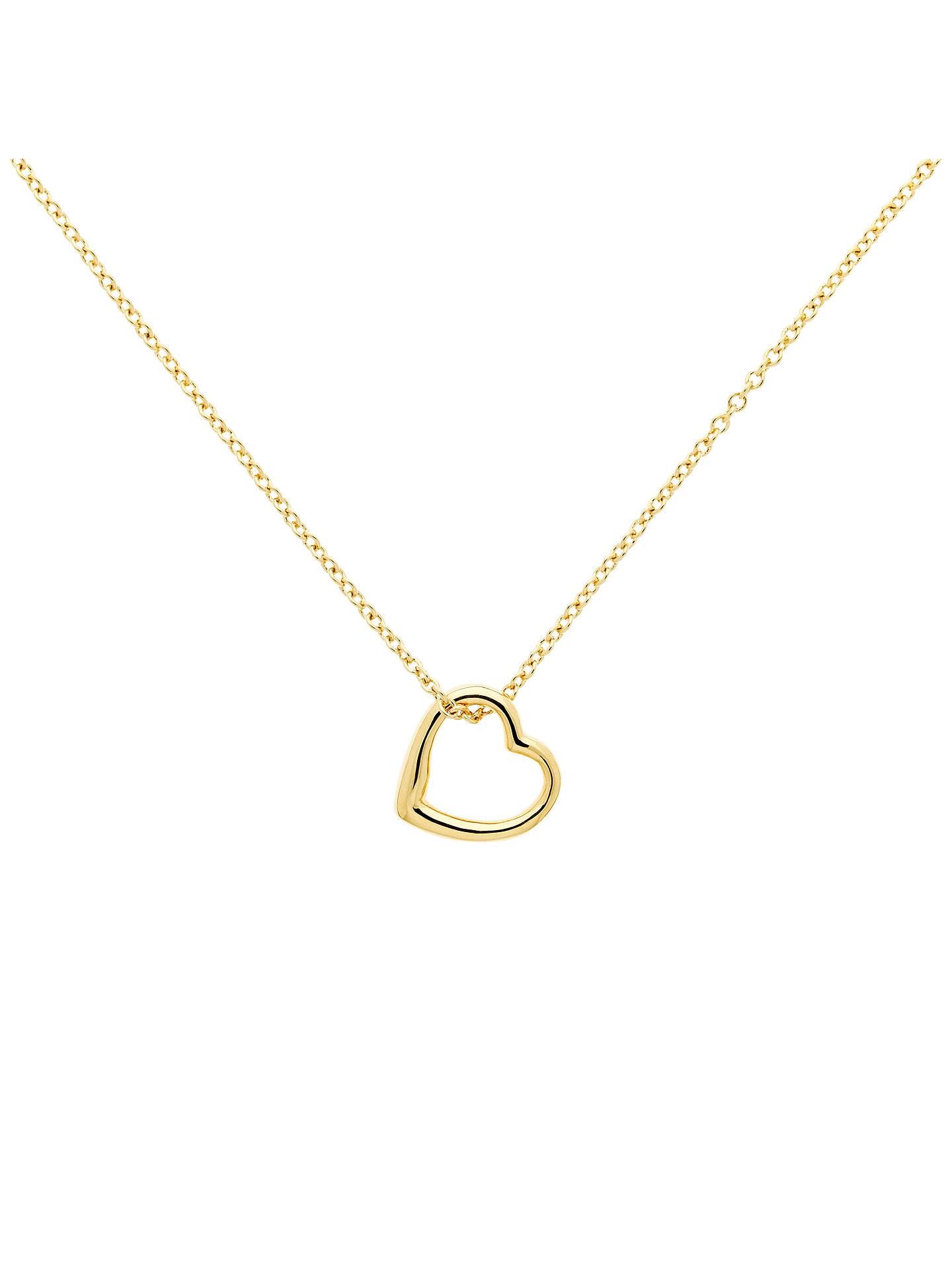 2c05ff8132154 Melissa Odabash Mini Heart Pendant Necklace, Gold