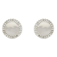 Buy Melissa Odabash Crystal Disc Stud Earrings Online at johnlewis.com