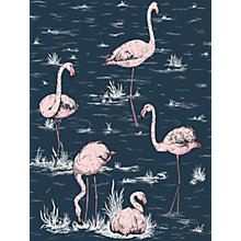 Buy Cole & Son Flamingos Wallpaper Online at johnlewis.com