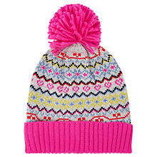 Buy Oasis Fair Isle Beanie Hat, One Size, Multi Online at johnlewis.com