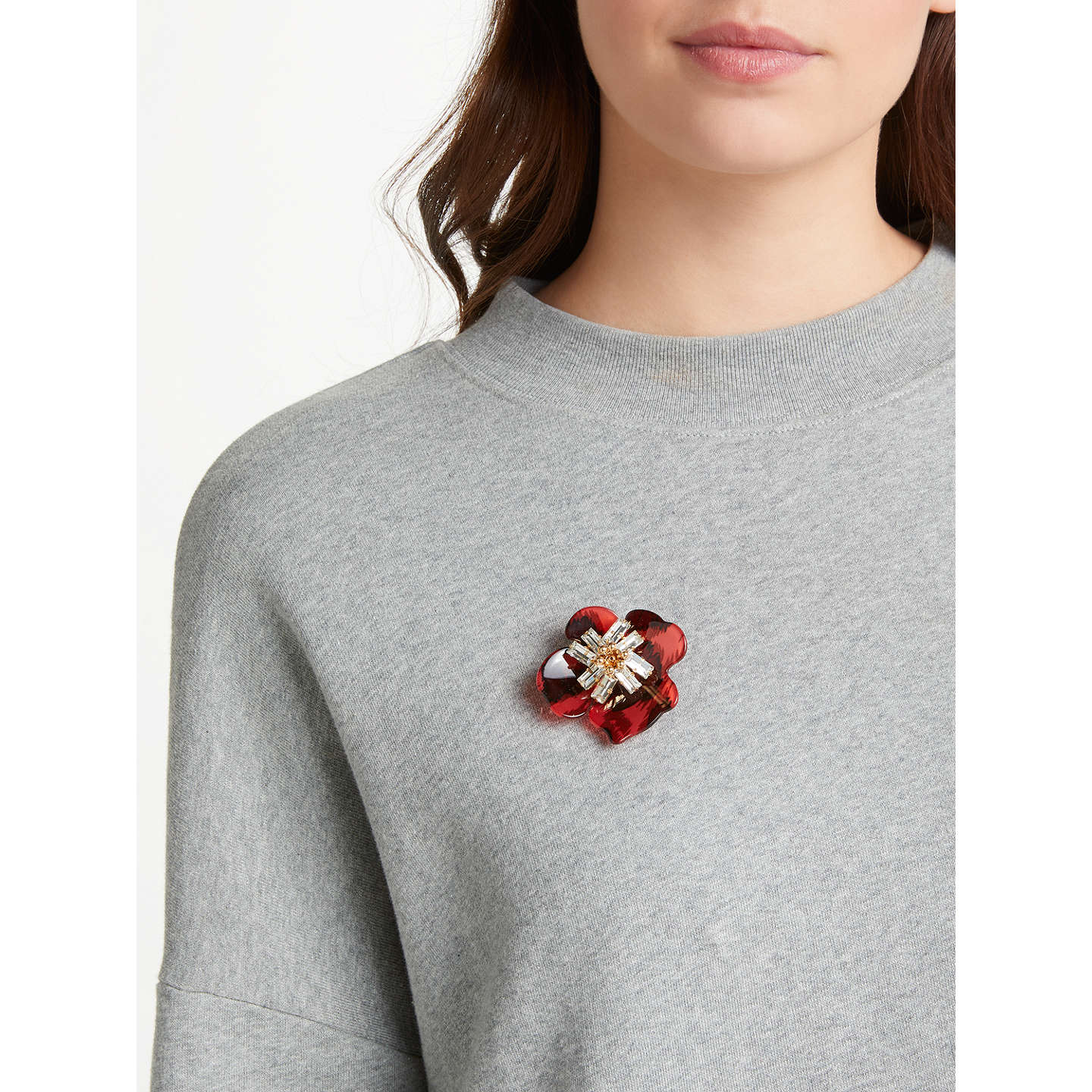 at statement floral main red john hot com pdp lewis johnlewis brooch buyjohn collar rsp online