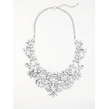 Buy John Lewis Large Statement Necklace, Silver Online at johnlewis.com