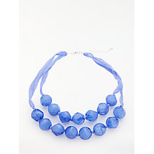 Buy John Lewis Layered Bead Necklace, Blue Online at johnlewis.com
