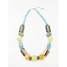 Buy One Button Short Fun Chunky Necklace, Multi Online at johnlewis.com