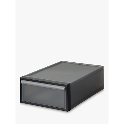 like-it Stacking Storage Drawer, H16cm, Grey