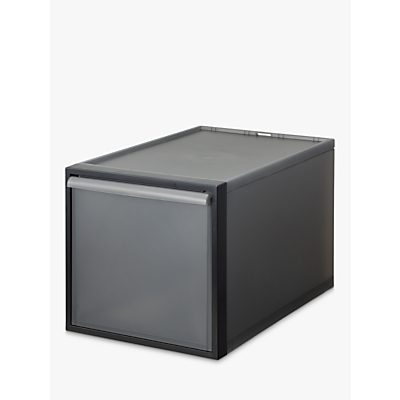 Like-It Closet 31 Drawer Storage Box, Grey