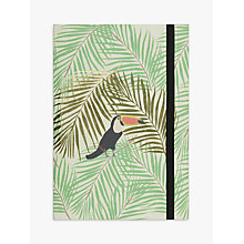 Buy Fenella Smith Toucan and Palm Print Notebook Online at johnlewis.com